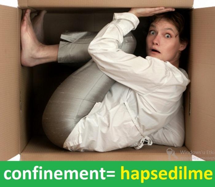 confinement