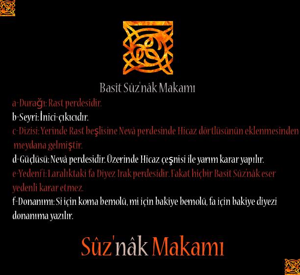 Türk müziğinin Ahmed Ağa tarafından düzenlenen yangın makamı