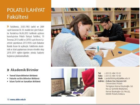 ankara-haci-bayram-universitesi-polatli-ilahiyat-fakultesi