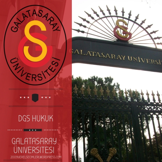 dgs hukuk galatasaray üniversitesi