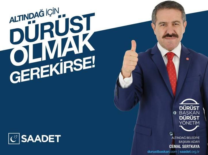 Saadet Partisi Ankara Altındağ Belediye Başkan Adayı