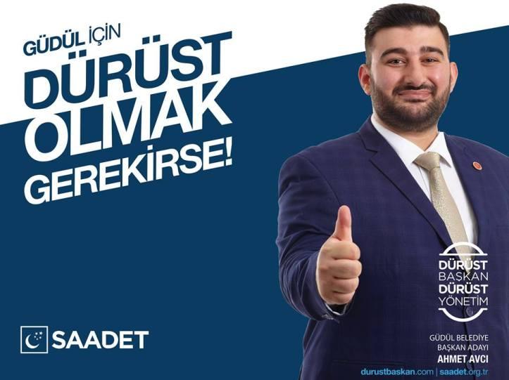Saadet Partisi Güdül Belediye Başkan Adayı Ahmet Avcı