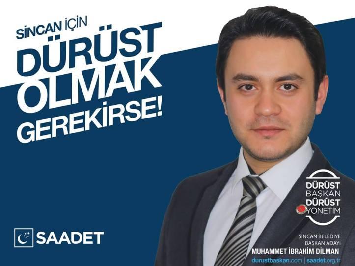 2019 Yerel Seçimler | Saadet Partisi Sincan Belediye Başkan Adayı Muhammet İbrahim Dilman
