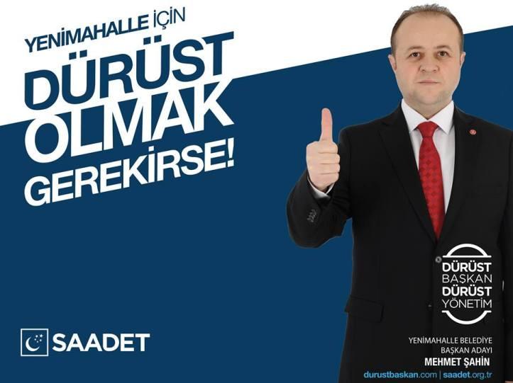 2019 Yerel Seçim | Saadet Partisi Yenimahalle Adayı Mehmet Şahin