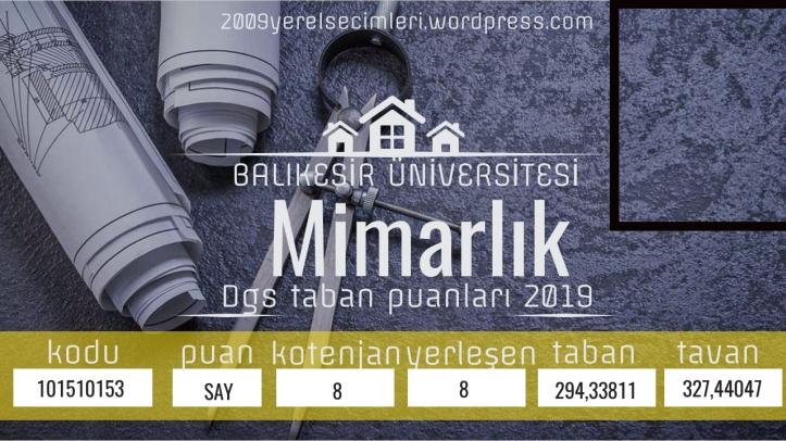 balıkesir Üniversitesi Mimarlık